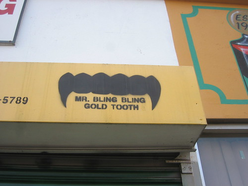 mr bling bling gold tooth