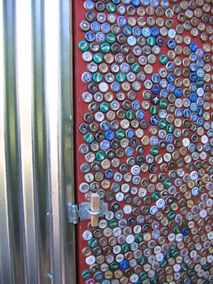 Bottlecap Door