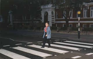 Walking Across Abbey Road, London