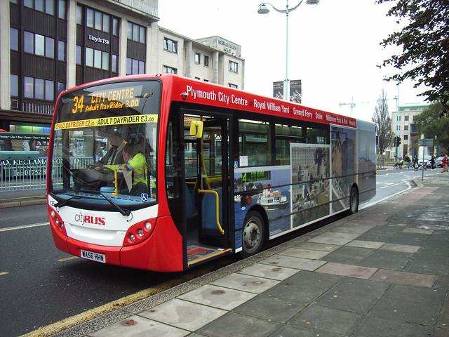 Plymouth Citybus 135 WA56HHN