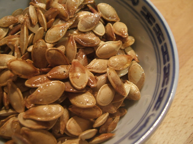 Toasted pumpkin seeds | Flickr - Photo Sharing!