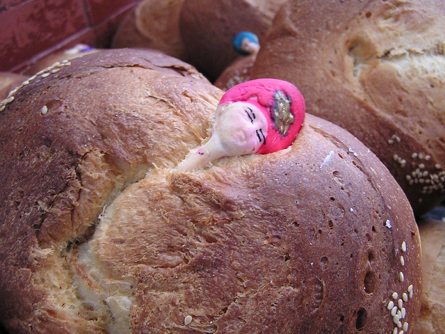 Oaxaca's Day of the Dead Bread | Flickr - Photo Sharing!
