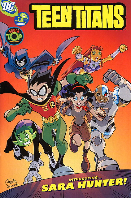 Teen Titans Team Up with Dyslexia
