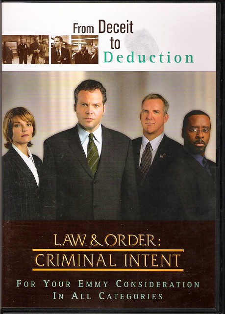 law and order anti-thesis Olivia jane d'abo (born january 22, 1969) is an english actress who played elizabeth hitchens aka nicole wallace in the law & order: criminal intent episodes anti.
