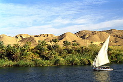 Desert and Nile