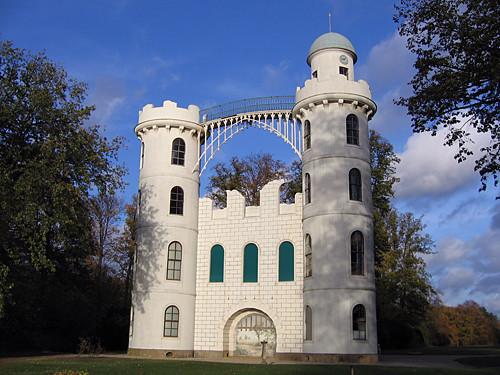 Schloss auf der Pfaueninsel - flickr: Emanuele