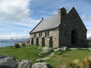 Good Shepherd Chapel at Tekapo, New Zealand