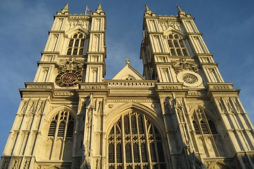 UK - London - Westminster: Westminster Abbey - West Front Towers