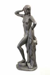 art, classical sculpture, sculpture, metal, bronze sculpture, figurine, statue,