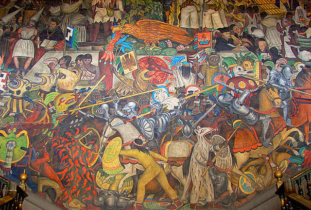 Diego rivera murals a gallery on flickr for Diego rivera tenochtitlan mural