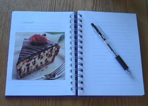 Recipe book 001