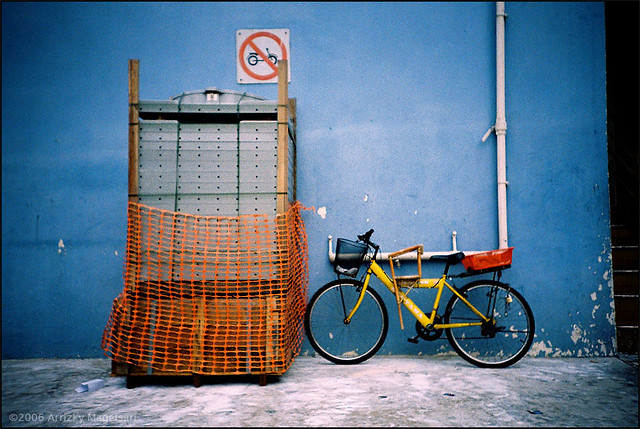 no bicycle parking