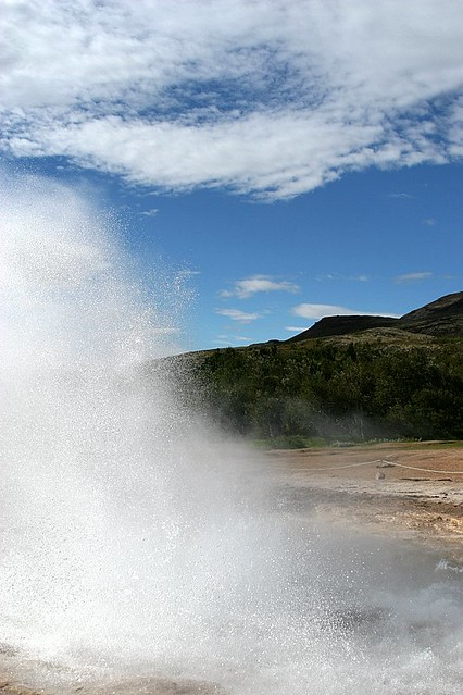 Strokkur Geysir Eruption #7 - Iceland
