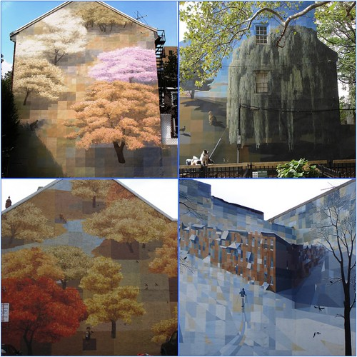 The four seasons murals philadelphia flickr photo for 4 seasons mural