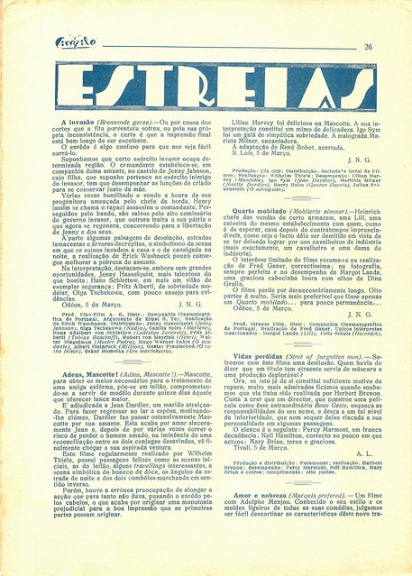 Cinéfilo, March 1930 - 26