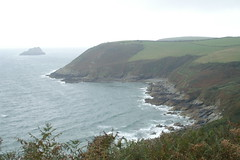 Nare Head and the Gull Rock