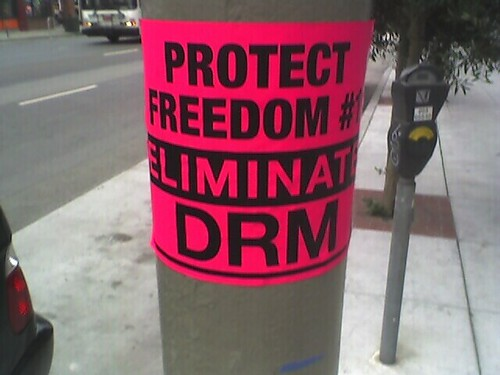 Protect freedom eliminate DRM