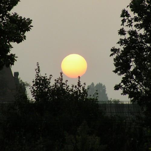 sunset sky cloud sun mist london fog croydon valerie southnorwood october06 southnorwoodcountrypark nikoncoolpixs10 pearceval beautifulworldchallenges