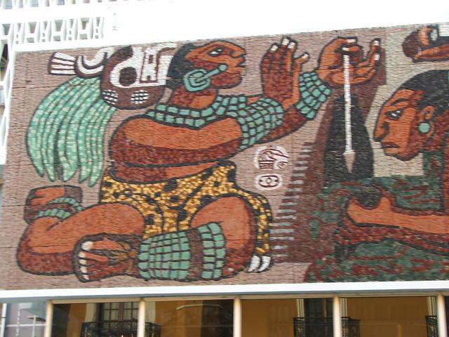 Primera parte de un mural de historia campechana explore for Caracteristicas de un mural