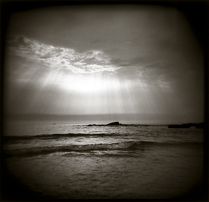 ocean light blackandwhite bw sun sunlight water holga waves maine mysterious haunting serene atlanticocean tranquil shaft godly shaftsoflight lightbeam palabra biddefordpool godslight biddefordpoolmaine atlanticoceanoffthecoastofmaine