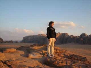 Earlene at Wadi Rum