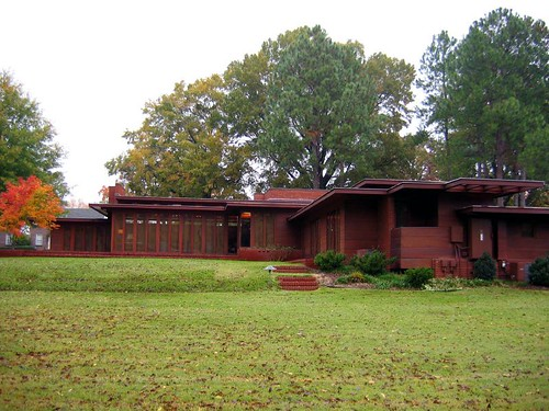 Rosenbaum Usonian House: Frank Lloyd Wright (Florence, AL)
