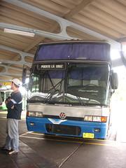 Bus to Puerto La Cruz
