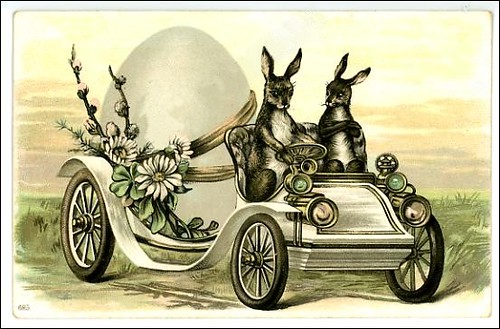 art card_005 easter car