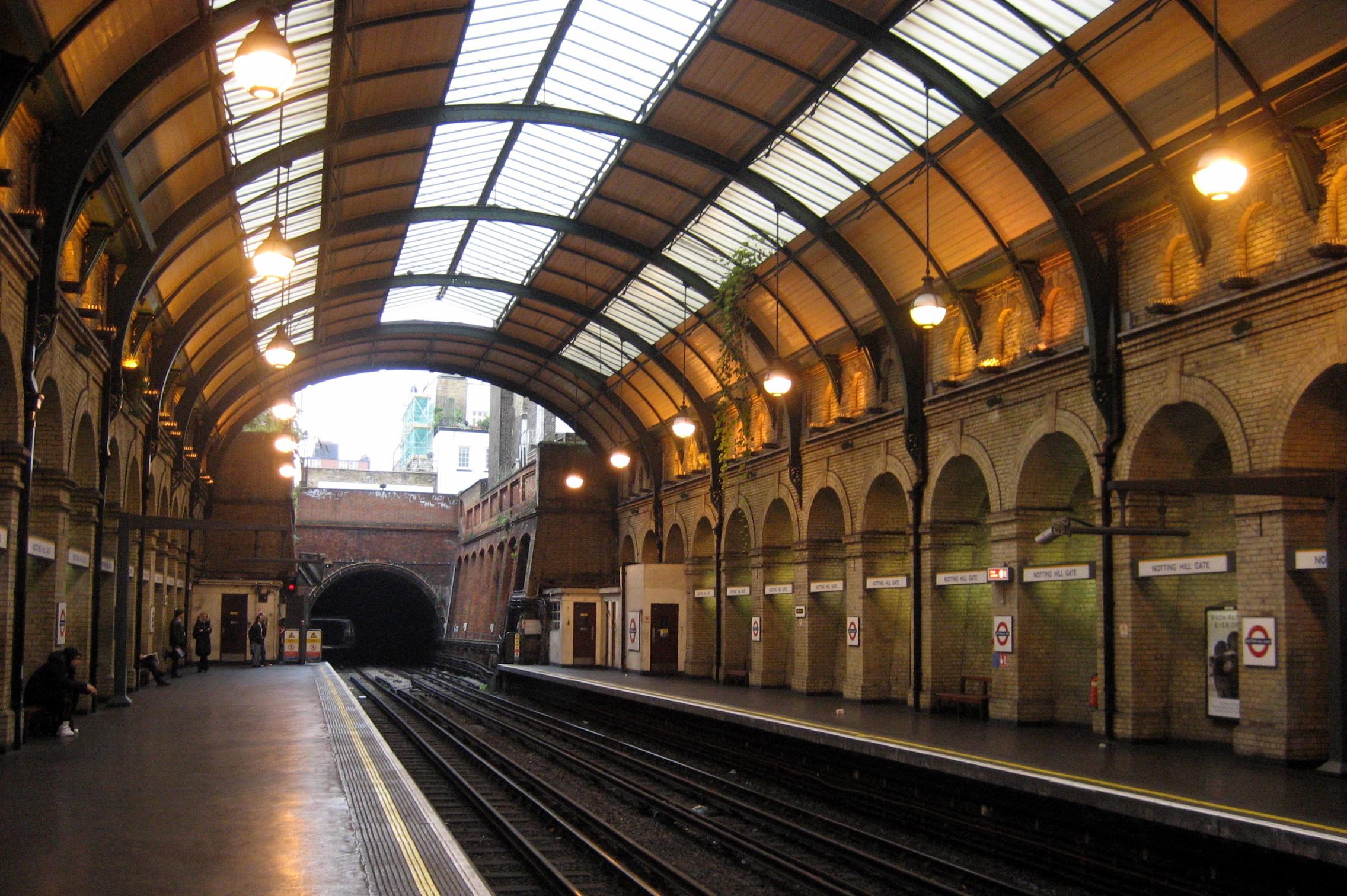 UK - London: Notting Hill Gate Station | Notting Hill Gate ... London Underground Stations