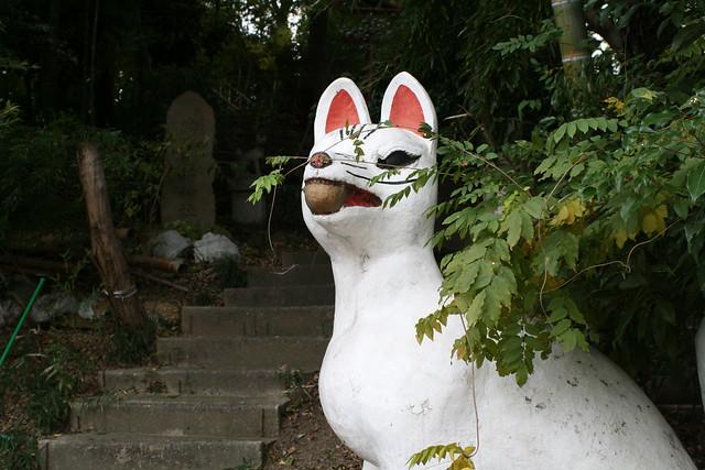 Photo:Fox shrine Narumi-cho, Nagoya Japan 山ノ神 鳴海 By Steve-kun