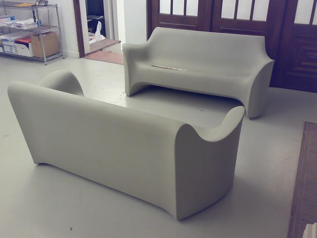 Philippe Starck Plastic Sofa Flickr Photo Sharing