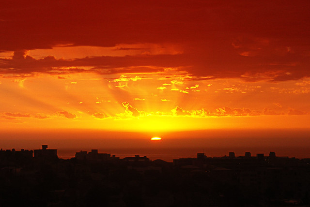 Sunset 19/11 Sea Point