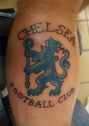 chelsea fc tattoo the one and only tattoo i have well fo by assburrito flickr photo. Black Bedroom Furniture Sets. Home Design Ideas