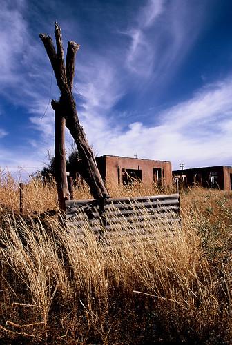 southwest abandoned slidefilm ghosttown fujivelvia ryanthomas nikonf5 nikkor24mm nacoarizona codaphoto