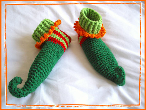 Free Crochet Pattern For Baby Elf Slippers : CROCHET ELF SLIPPER PATTERN Crochet Patterns