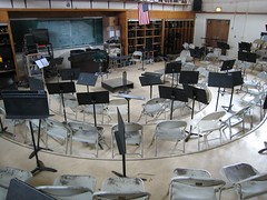 High School Music Room
