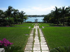 looking towards nassau from the cloister