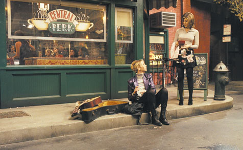 Outside Central Perk, from the tv show Friends