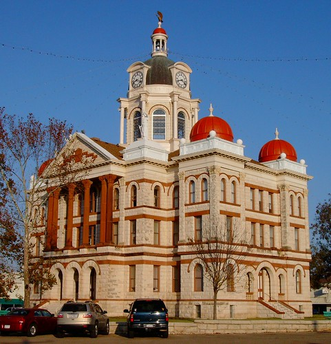 Gatesville (TX) United States Picture : Coryell County Courthouse (Gatesville, Texas)