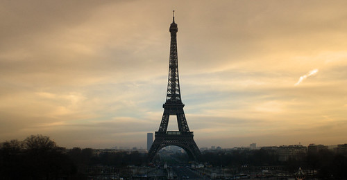 Playing with Sepia - Eiffel Tower, Paris