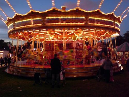 goose fair carousel