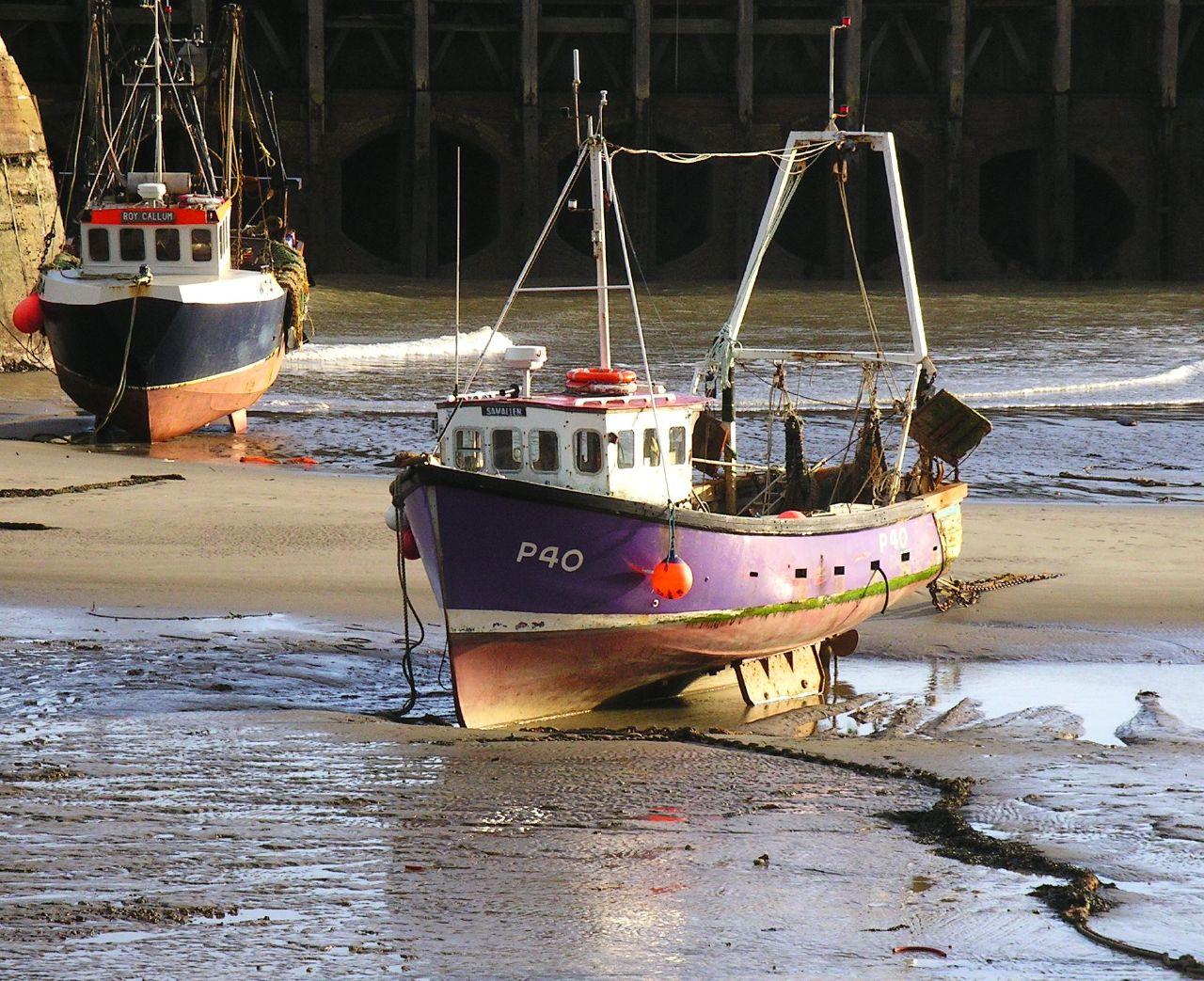 Book 3, Walk 13, Folkestone Circular 8 Amphibious craft, 3 March '07