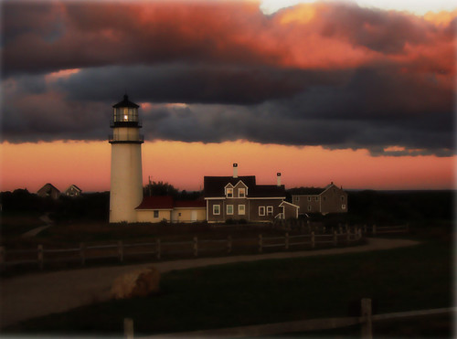 Highland Light At Dawn