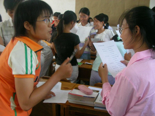 Teaching ESL by Flickr CC Rex Pe
