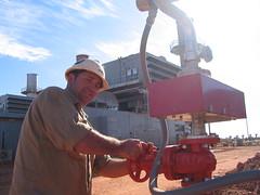 oil field,