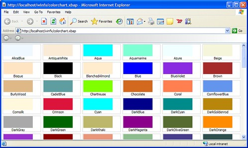 Wpf Color Chart Rebellions