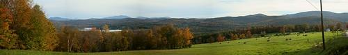 autumn panorama mountain farm canoneos350d