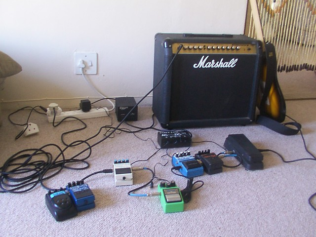Photo:effects pedals By phorque