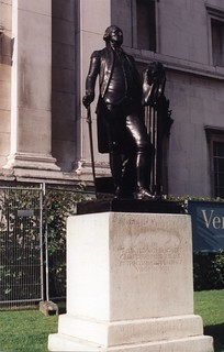 George Washington Statue at National Gallery, London
