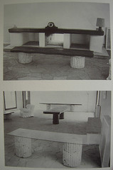 bench, furniture, table,